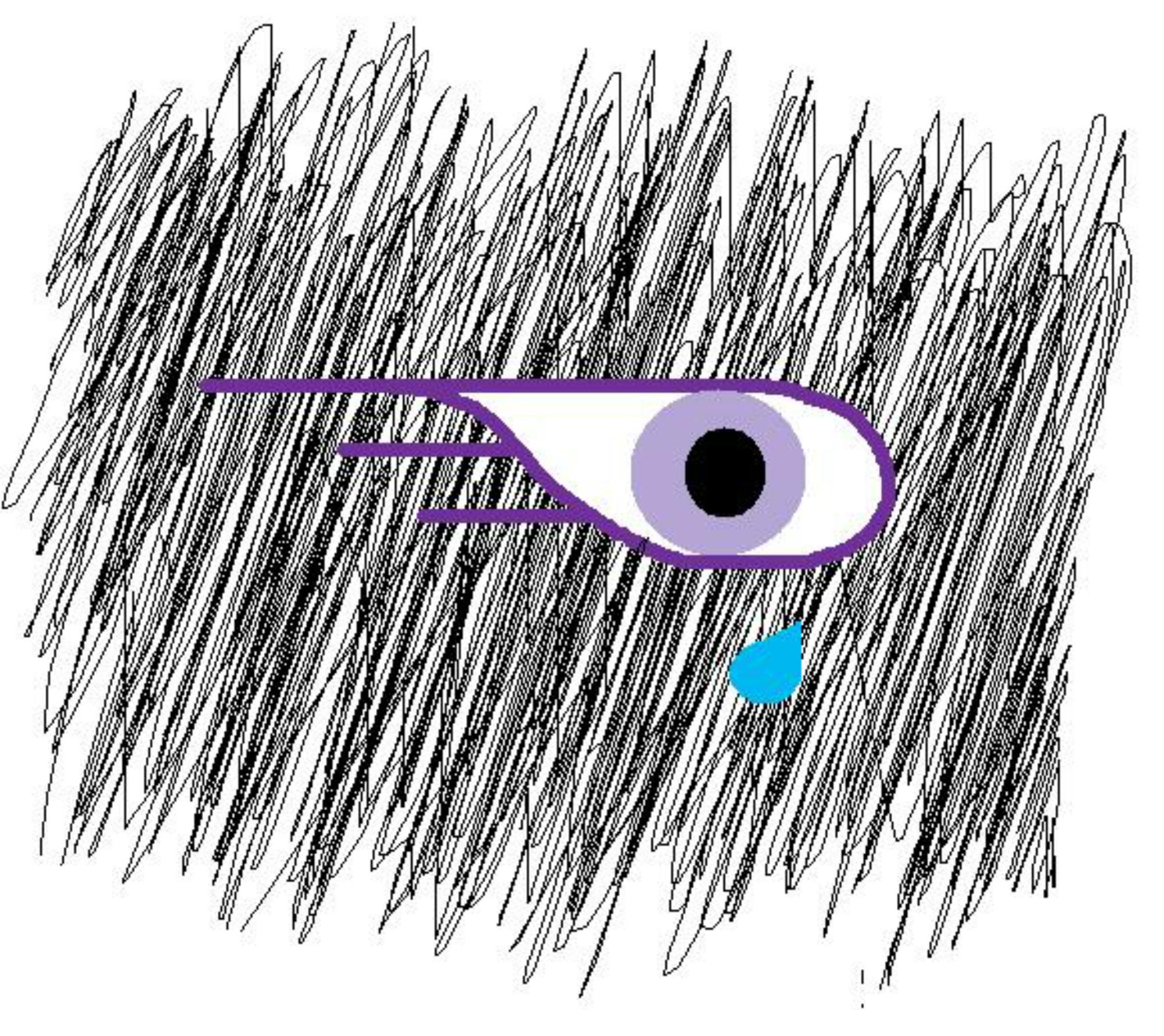 Justin Peavey DRAWING eye design big png